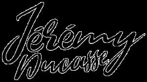 Logo Jérémy Ducasse - Noir